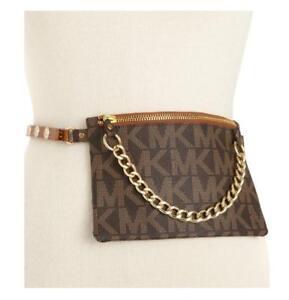 bcd1655add6a NWT Michael Kors Belt Bag MK Signature Logo Fanny Pack Size Medium ...