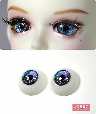 14mm acrylic eyes For BJD DOD AOD MK OK RD Doll Dollfie Laser gradient H2