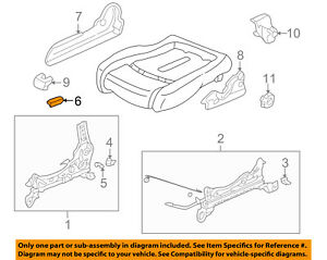 Honda Genuine 81631-S01-003ZD Seat Reclining Knob