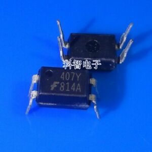 10 x 814A F814A FOD814A DIP-4 Phototransistor Optocouplers