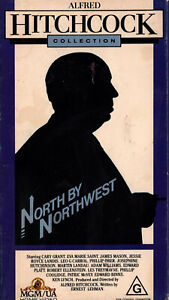 NORTH-BY-NORTHWEST-Aflred-Hitchcock-VIDEO-VHS-Pal-SirH70