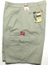 2efcb08296 item 5 New Wrangler Men's 42 Khaki Cargo Shorts Relaxed Fit Flat Front Tech  Pocket -New Wrangler Men's 42 Khaki Cargo Shorts Relaxed Fit Flat Front Tech  ...