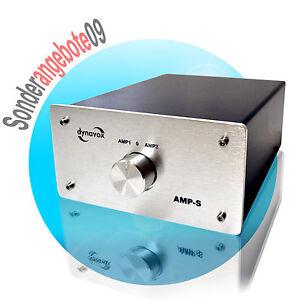dynavox amp s verst rker boxen umschalter amplifier. Black Bedroom Furniture Sets. Home Design Ideas
