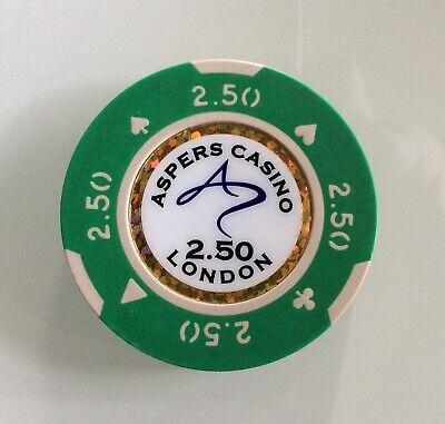 London Rohstoffe Sind Ohne EinschräNkung VerfüGbar Casinochip Aspers Casino Jeton 2,50 £