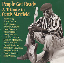 Curtis Mayfield -People Get Ready - Tribute to Curtis Mayfield - Shanachie 9004