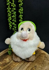 Bashful-Dwarf-Snow-White-Vintage-Walt-Disney-Croner-Toys-80s-18-cm-7-034-Plush-Toy