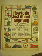 Reader's Digest How To Do Just About Anything, 1996 Printing, H back  (SS-18)