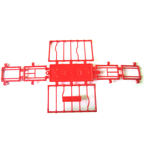 11CM Plastic Animal Fence Four Sides Disassembled Cage model Accessories CHW LL