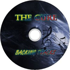 THE-CURE-GUITAR-BACKING-TRACKS-CD-BEST-GREATEST-HITS-MUSIC-PLAY-ALONG-MP3-ROCK
