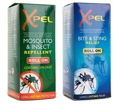 Xpel Mosquito & Insect Repellent Roll On 75ml + Bite & Sting Relief Roll On 75ml