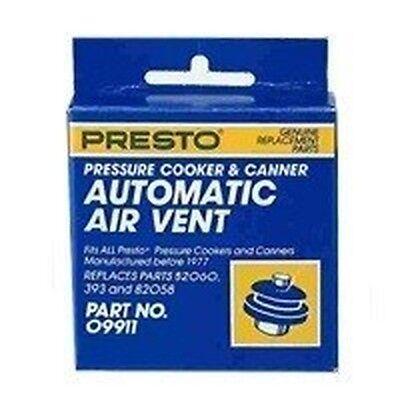 Fits Presto 9911 Pressure Cooker Air Vent Plug