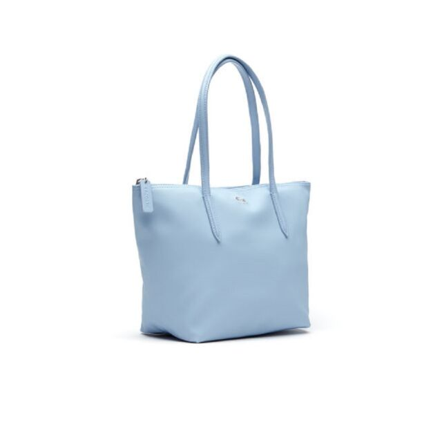 L 12 Concept Medium Zip Tote Bag Nf0946po Dusty Blue
