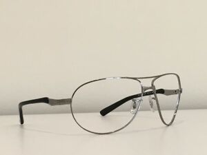 6f34fc0943 Details about 105 Ray Ban RB 3393 004 87 Gunmetal Aviator Frame Sunglasses  No Lenses 64-14 3N