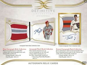 2018-TOPPS-DEFINITIVE-BASEBALL-LIVE-RANDOM-PLAYER-1-BOX-BREAK