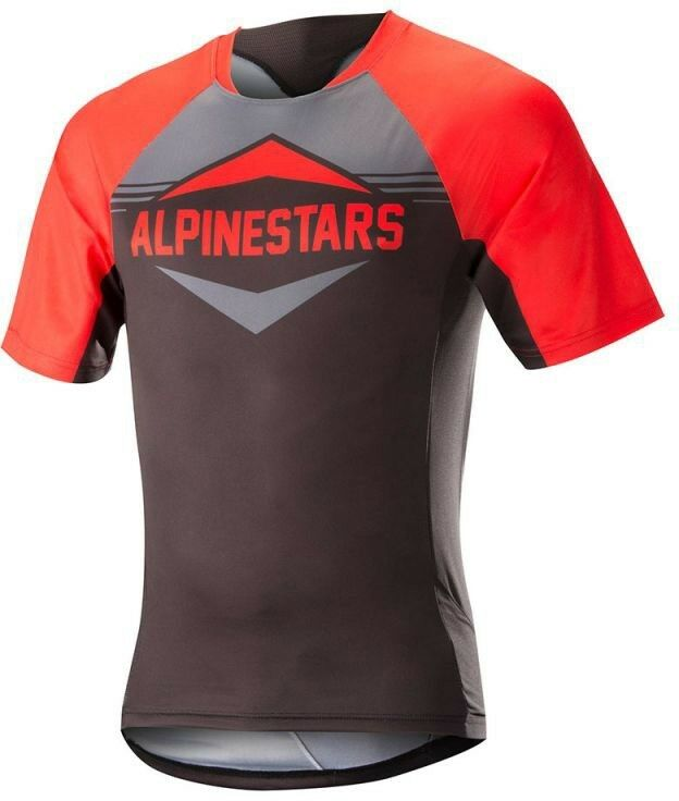Alpinestars Mesa Short  Sleeve Mens Cycling Jersey-Red Grey  10 days return