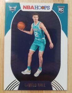 2020-21 Panini NBA Hoops Lamelo Ball Rookie #223 Charlotte Hornets RC Mint NICE