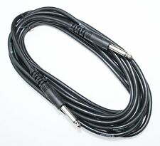 Audiokabel · Klinke 6,3 mm - Länge 3 meter (G23)