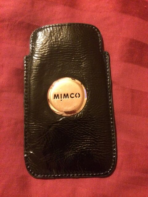 newest f40d2 6daf8 Mimco iPhone 5 5s Case Black Sleeve
