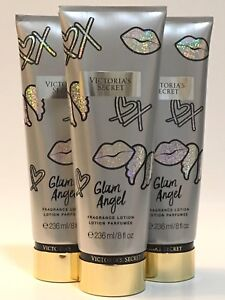 3d4dd11f262f2 Details about NEW 3 VICTORIA'S SECRET GLAM ANGEL FRAGRANCE BODY LOTION 8 OZ  TUBE BRANDY WOODS