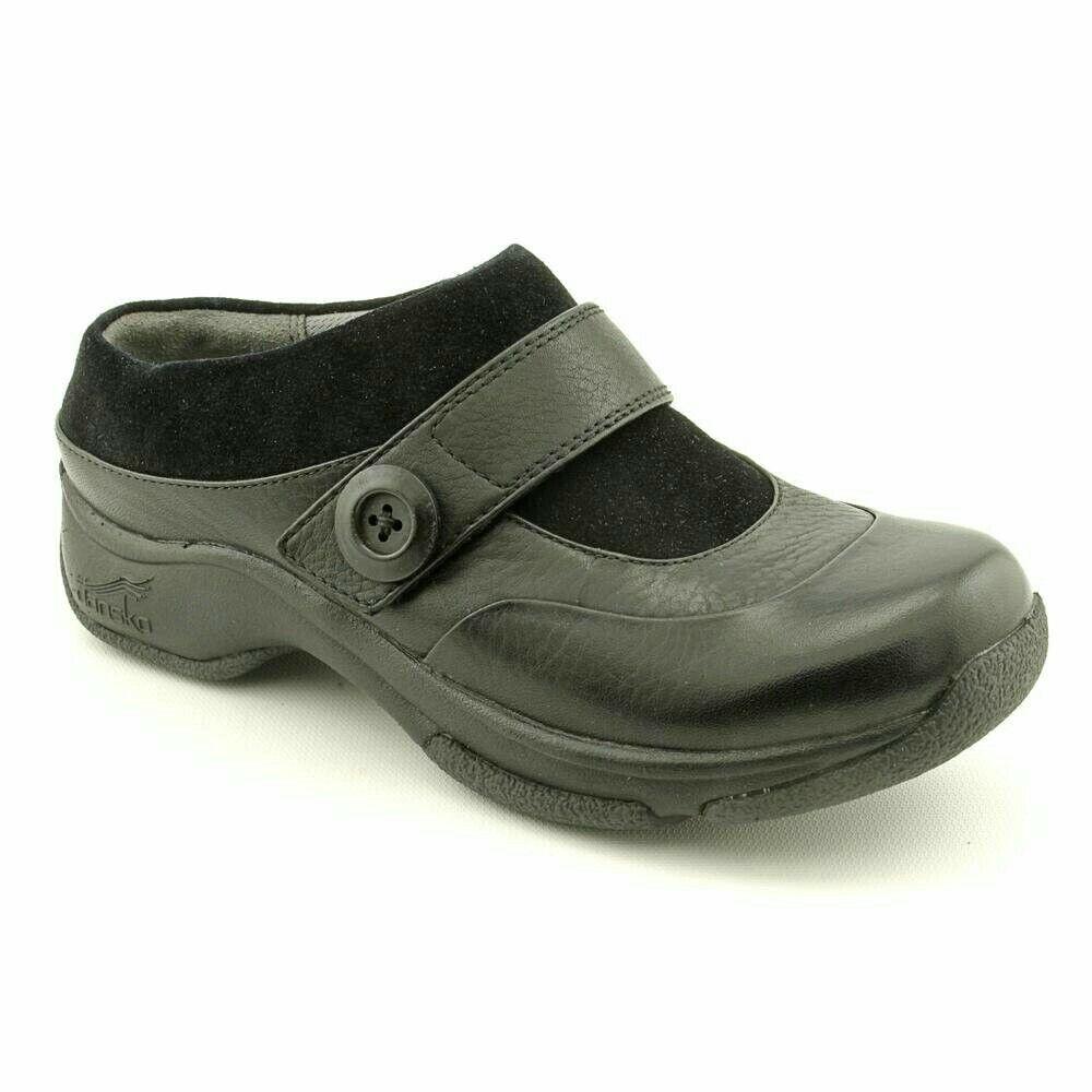 Dansko Zueco Mulas Zapatos para mujer mujer mujer Negro Kaya Antideslizante Talla 36 Usado En Excelente Condición  tomar hasta un 70% de descuento