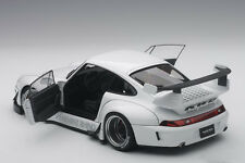 Autoart PORSCHE 993 RWB WHITE/GUN GREY WHEELS COMPOSITE MODEL 1/18 Scale In Stok
