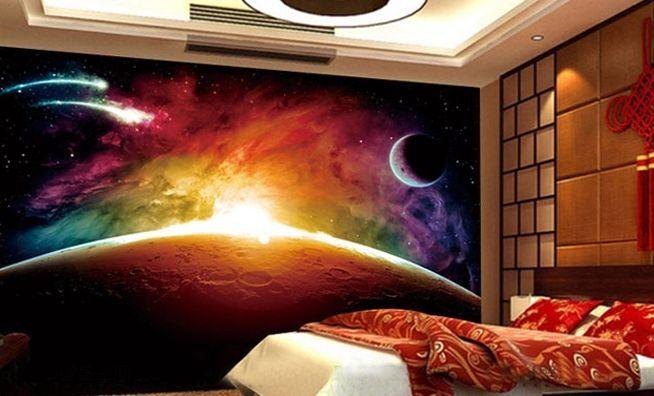3D Cosmic rays 60 WallPaper Murals Wall Print Decal Wall Deco AJ WALLPAPER