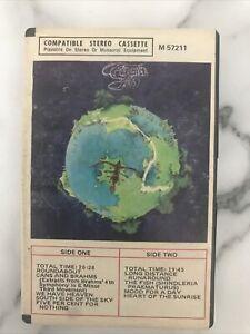 VINTAGE YES 'Fragile' Cassette Atlantic Rec. #M57211/1972 Ampex Hard Case