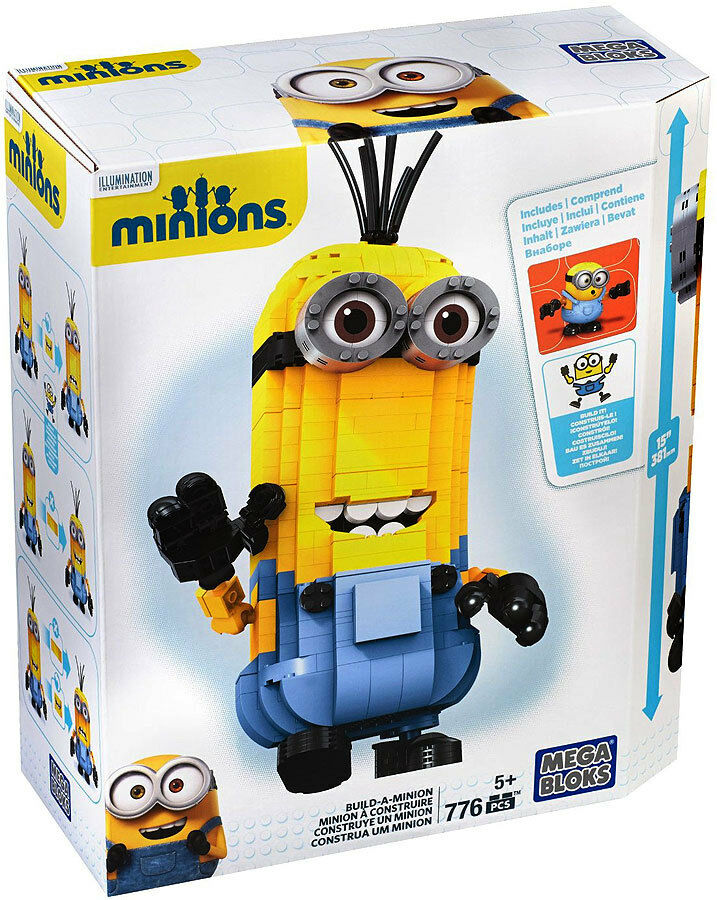 Mega Bloks Built a Minion Kevin NEW in unopened Box