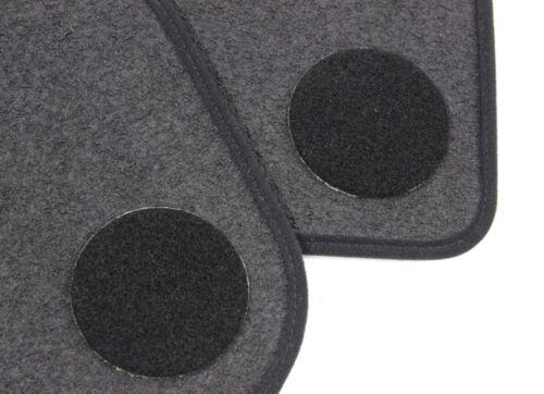 Fußmatten BMW X1 F48 Original Qualität Velours Automatten 4teilig anthrazit NEU