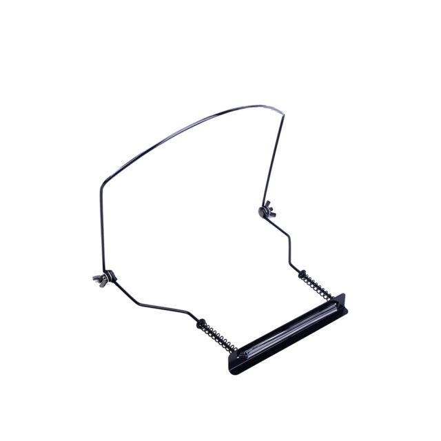 Adjustable Suitable 10 Hole Harmonica Neck Rack Mount Holder Stand DD