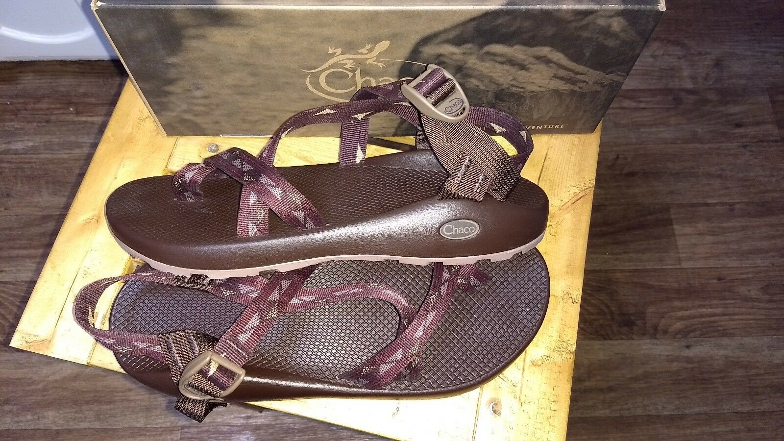 2180d43b12f Chaco Z2 Classic Summit Brown Sandal Men s Size 13 for sale online ...