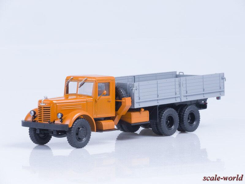 Modelo de escala camión 1 43 Yaz-210 on-Board, Naranja gris (AIST)
