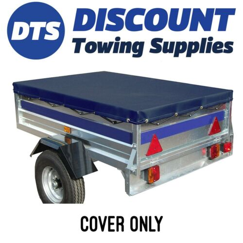 Noval Portaflot Quality Blue Water proof Trailer Cover 1560 x 1000mm Bungee Cord