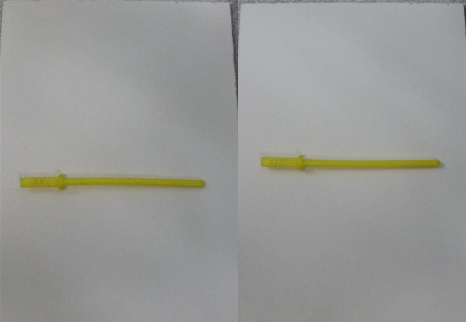 LUKE SKYWALKER Bespin Fatigues 1980 Yellow Yellow Yellow Lightsaber Original Not REPRO SW51 894687