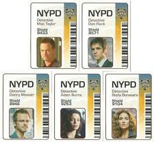 CSI New York Series 1 Full 5 Card ID Chase Set from Strictly Ink