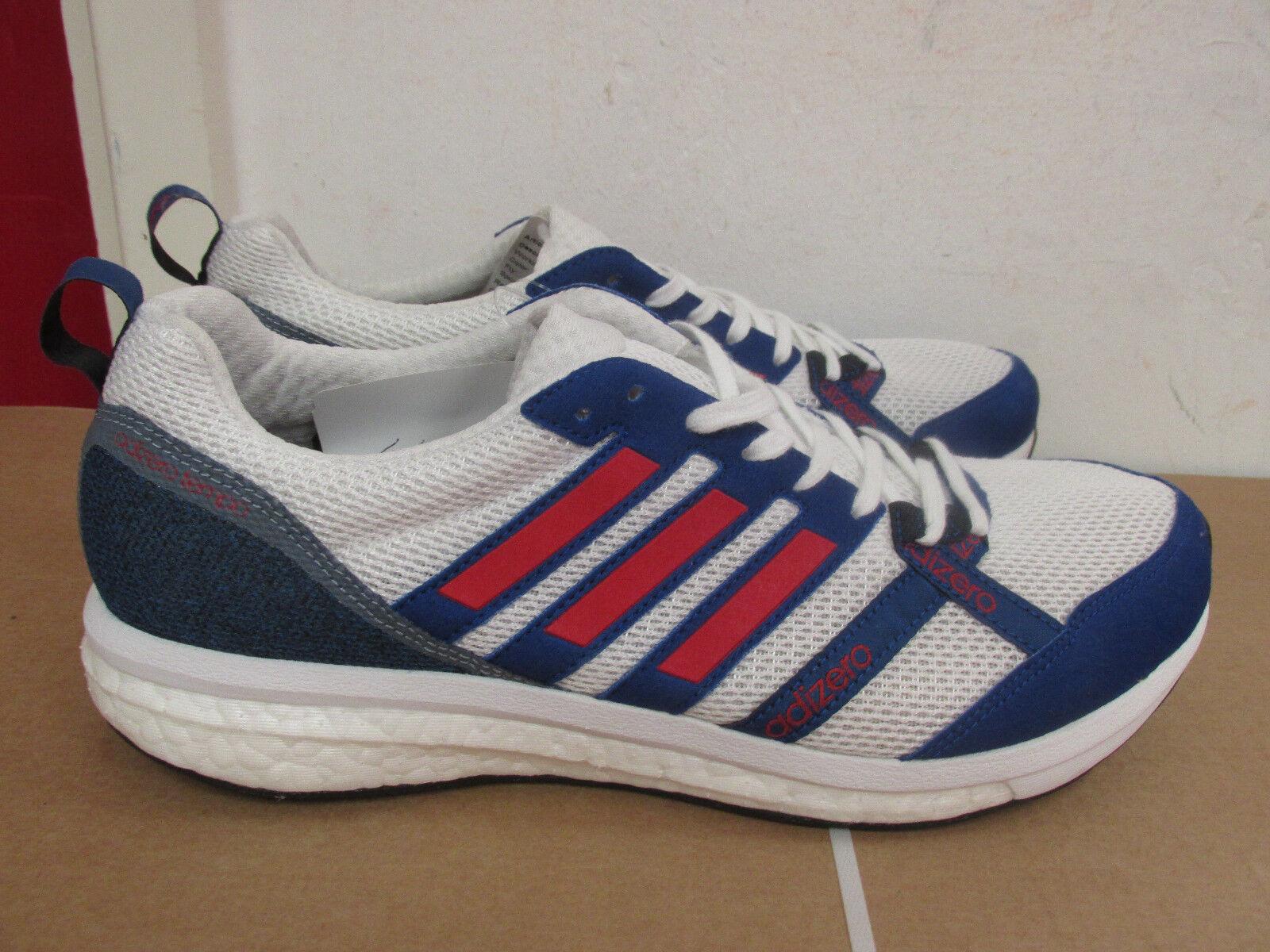 Adidas adizero tempo 8 AKT BA8245 mens trainers sneakers SAMPLE