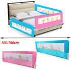 Kids Bed Guard Toddler Safety Children Bedguard Folding Metal Rail 180cm 150cm
