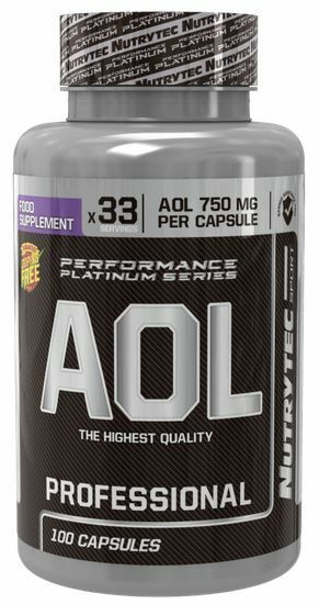 AOL 100 Caps-NUTRYTEC-ARGININA-ORNITINA-LISINA- POTENCIADOR DE LA TESTOSTERONA