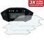 3 x Honda CRF250L CRF250 Rally 2017 Tacho Displayschutzfolie Ultra-Klar