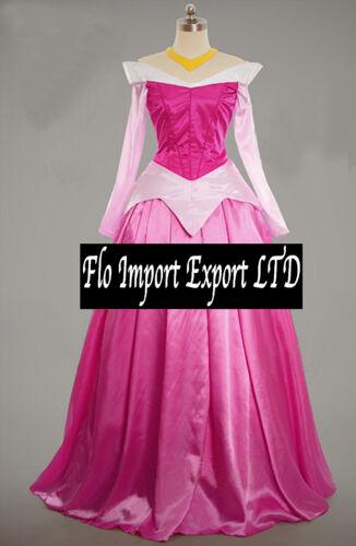 Aurora Vestito Carnevale Donna Dress up Sleeping Beauty Woman Costume AURW01