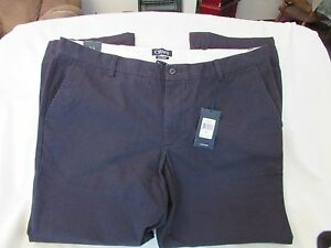 "Men's ""Chaps"" Size 36x34, Navy, Classic, Straight, Flat Front, Pants"