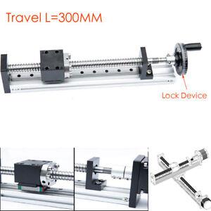 Cross-Slide-Linear-Module-Actuator-Stage-Motion-Ballscrew-SFU1605-Travel-300MM