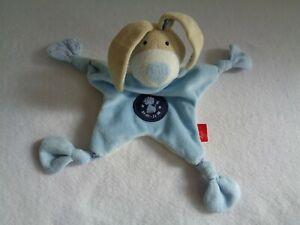 7ad4271377 Das Bild wird geladen Hase-blau-Schmusetuch-Kuscheltuch-Sigikid-Sternzeichen -Loewe-Schnuffeltuch