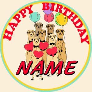 SLOTH PERSONALISED NAME BIRTHDAY BADGE