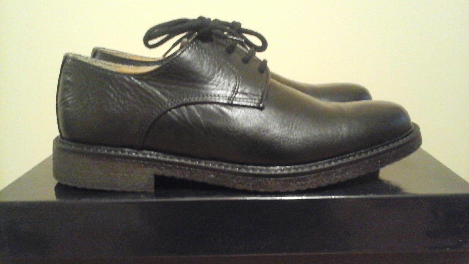 da non perdere! Montenapoleone scarpe classiche tg. 39 39 39 vitello nero  vendita online sconto prezzo basso