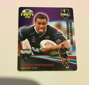 NRL 2007 CLASSIC RUGBY LEAGUE TAZO - FRANK PRITCHARD, PENRITH PANTHERS #17