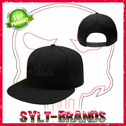 BLACK SABBATH  CAP KAPPE SNAPBACK BASECAP HAT HEAVY METAL CAPS KAPPEN MÜTZEN