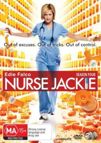 1 of 1 - Nurse Jackie: Season 4  - DVD - NEW Region 4