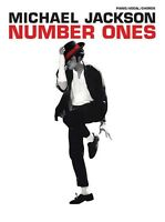 Michael Jackson Number Ones Sheet Music Piano Vocal Guitar Songbook Ne 000700737