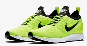 92c7153af381 Nike Men s Air Zoom Mariah Flyknit Racer 918264-700 Volt Black  150 ...